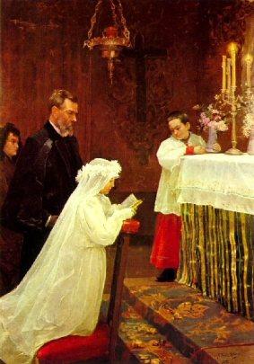 1895 La première communion