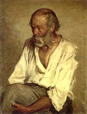 1895 Pablo Malaga copie de picasso(13 Ans)
