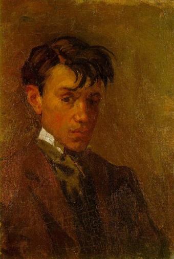1896 Autoportrait mal coiffé
