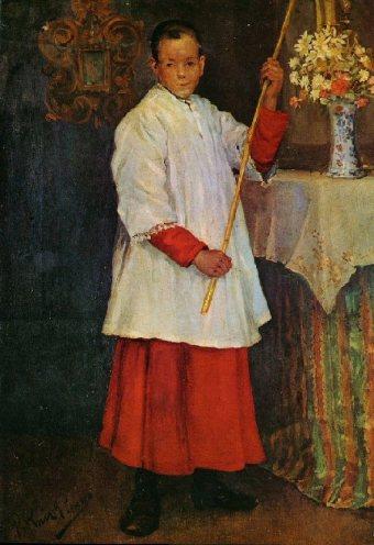 1896 L'enfant de choeur