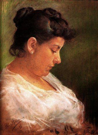 1896 Portrait de la mère de l'artiste2