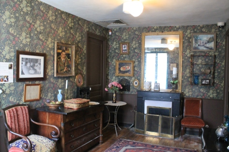 Una de las habitaciones de la casa de Suzanne..ahora Museo de Montmatre